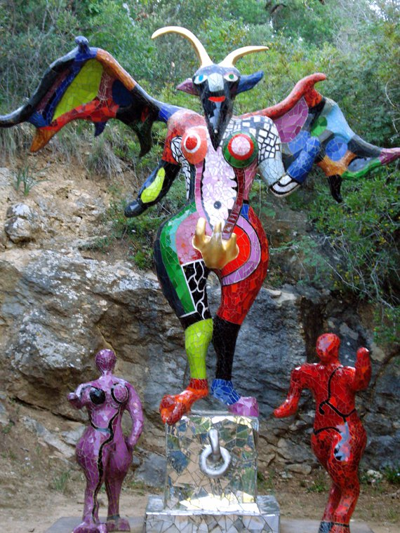 The Devil Photo The Tarot Garden In Capalbio Tuscany Pictures Photos