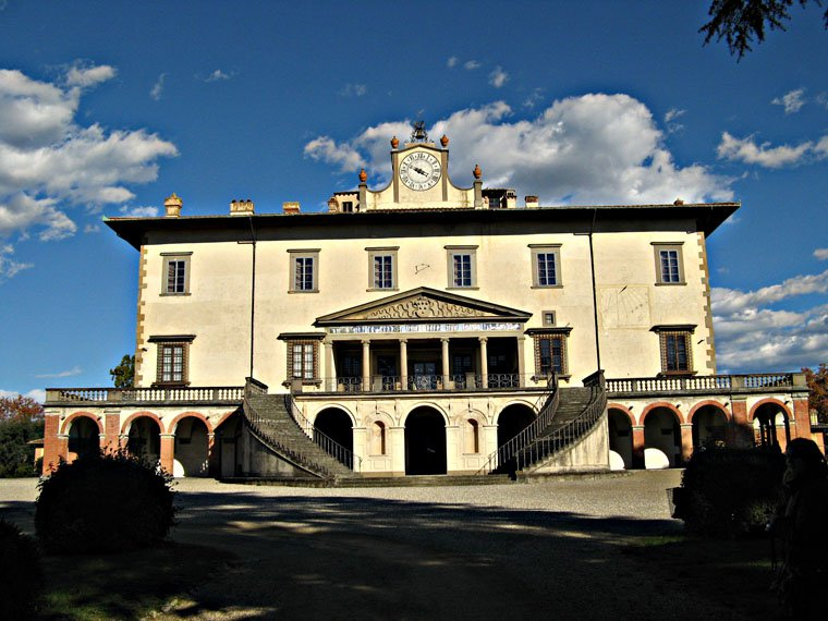 Villa Medici villa medici photo medici villas tuscany pictures photos