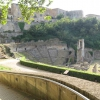 View of the Roman ruins